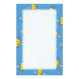 Gele Insecten Gpersonaliseerd Briefpapier