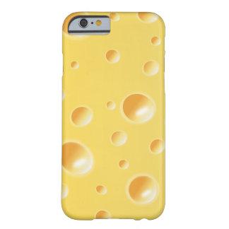 Gele iPhone 6 van de Textuur van de Plak van de Em Barely There iPhone 6 Hoesje