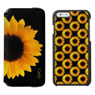 Gele iPhone 6 van Zonnebloemen het Hoesje van de