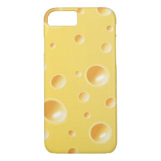 Gele iPhone 7 van de Textuur van de Plak van de iPhone 8/7 Hoesje