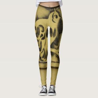 Gele Kanarie Leggings