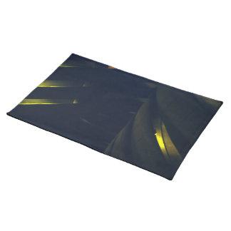 Gele Licht toont Placemat