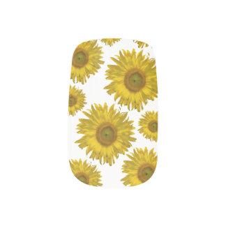 Gele Minx van Zonnebloemen Spijkers Minx Nail Art