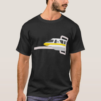 Gele monorail t shirt