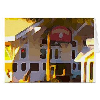 Gele Opslag in Key West Briefkaarten 0