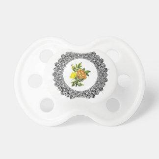 gele ronde bloemen speentje