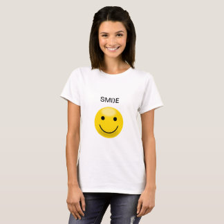Gele Smiley T Shirt