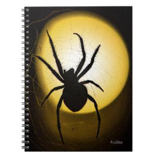 Gele Spin | het Fijne Notitieboekje van de Kunst Notitieboek