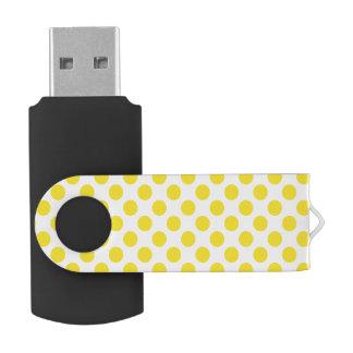 Gele Stippen USB Stick