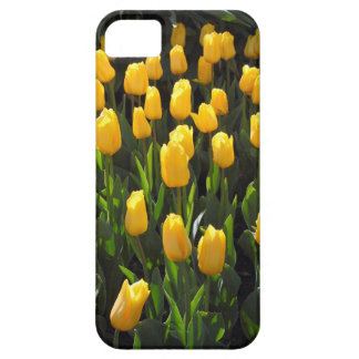 Gele Tulpen Barely There iPhone 5 Hoesje