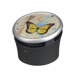 Gele vlinder bluetooth luidspreker