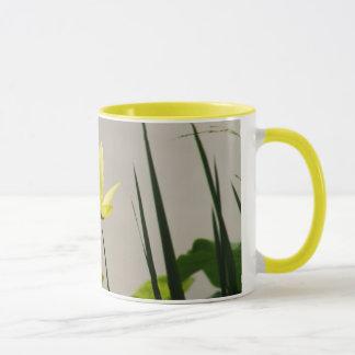 Gele waterlelie - de gele mok van de ringskoffie