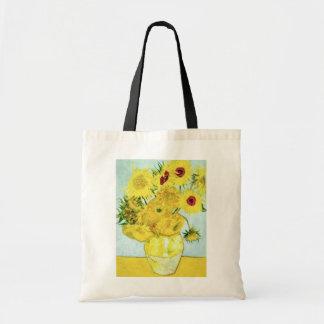 gele Zonnebloemen, de bloemen van Vincent van Gogh Draagtas