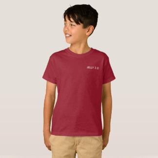Gelei 2.0 Rode/paarse t-shirt (jongens)