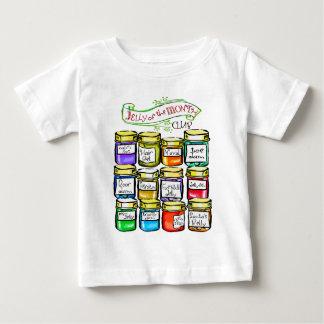 Gelei van Grappige Kerstmis van de Club van de Baby T Shirts