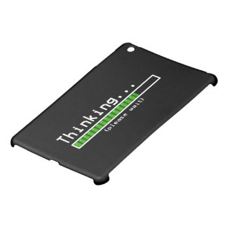 gelieve te denken wacht iPad mini cases