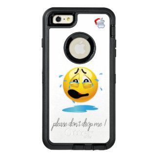 gelieve te laten vallen me niet iphonehoesje OtterBox defender iPhone hoesje