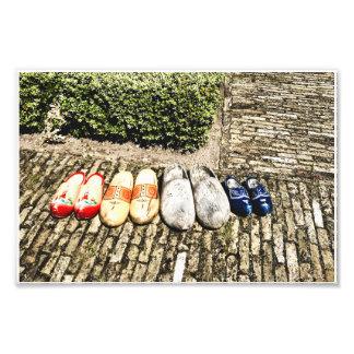 Gelieve te verwijderen uw schoenen! foto afdruk