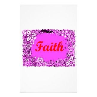 Geloof 3 briefpapier