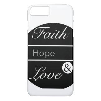 Geloof, Hoop, en Liefde iPhone 8/7 Plus Hoesje