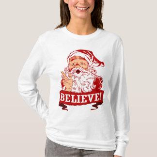 Geloof in de Kerstman T Shirt