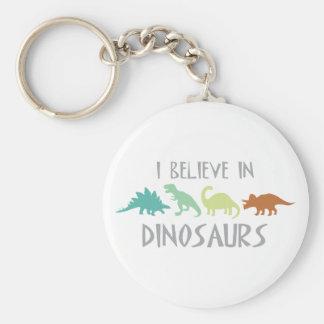 Geloof in Dinosaurussen Sleutelhanger
