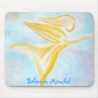 Geloof in Mirakelen! mousepad Muismat