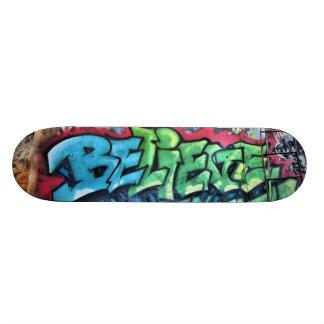 """""""Geloof"""" Skateboard"""