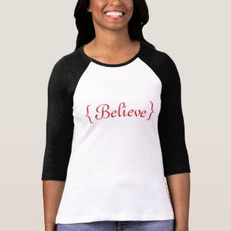 """""""Geloof"""" T-shirt"""