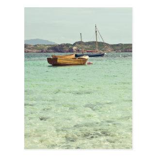 Geluid van Duidelijk Blauw Water Iona Briefkaart