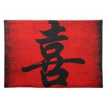 Geluk in Chinese Kalligrafie