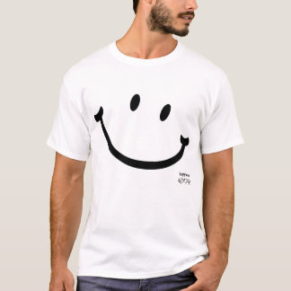 geluk smiley t shirt