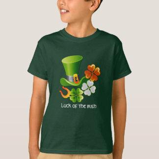Geluk van de Ieren. St. Patrick de T-shirts van de