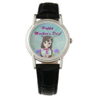 Gelukkig Aanwezig Moederdag (Klantgericht) Horloges