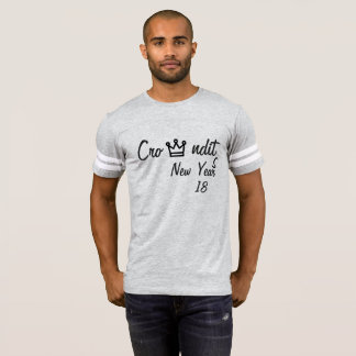 Gelukkig de baloverhemd van de 2018 nieuw jaren t shirts