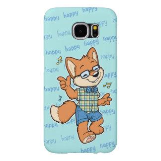 Gelukkig de telefoonhoesje van de Melkweg van Samsung Galaxy S6 Hoesje