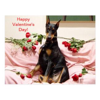 Gelukkig dober-Valentijn aan u Briefkaart