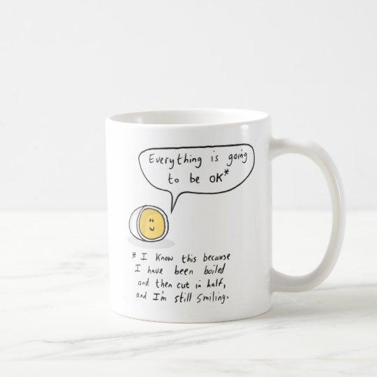 Gelukkig Ei - alles gaat O.K. zijn Koffiemok