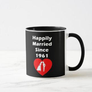 Gelukkig Gehuwd sinds 1961 Mok