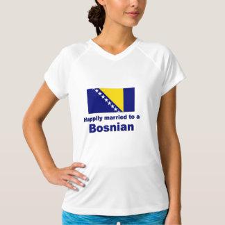 Gelukkig Gehuwde Bosniër T Shirt