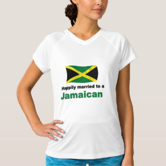 Gelukkig Gehuwde Jamaicaan T Shirt