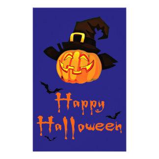 gelukkig Halloween Briefpapier