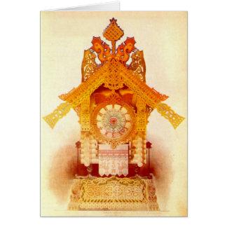 Gelukkig Halloween - de Hut van Yaga van de Baba Briefkaarten 0