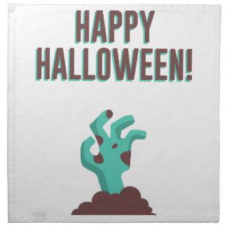 Gelukkig Halloween die het Dode Ontwerp van het Katoenen Servet
