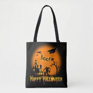 Gelukkig Halloween - het Canvas tas van de Partij