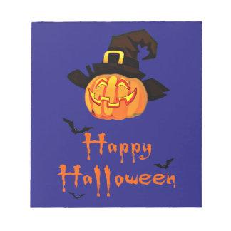 gelukkig Halloween Notitieblok