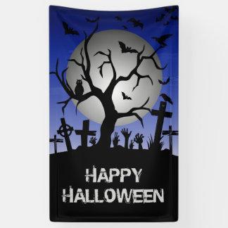 Gelukkig Halloween Spandoek