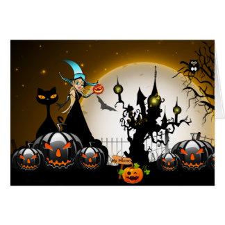 Gelukkig Halloween Wenskaart