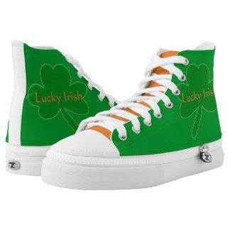 Gelukkig Iers Groen Wit Oranje Hoog Hoogste