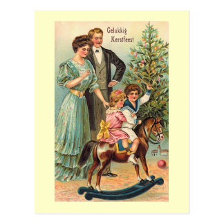 """Gelukkig Kerstfeest "" Briefkaart"